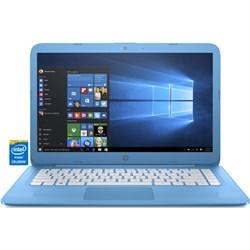 "HP Stream 14-ax010nr 14.0"" Aqua Laptop - Intel Celeron N3..."