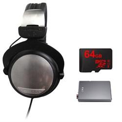 BeyerDynamic DT 880 Premium Black Version 250 OHM w/ FiiO A5 Headphone Amps Bundle