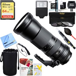 Tamron SP 150-600mm F/5-6.3 Di VC USD Zoom Lens for Canon...