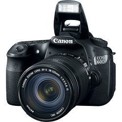 Canon EOS 60D DSLR Camera with 18-135mm IS Lens