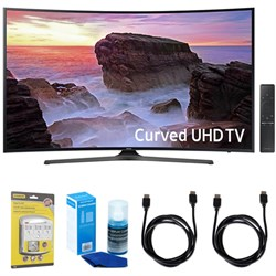"Samsung Curved 55"" 4K Ultra HD Smart LED TV (2017 Model) ..."