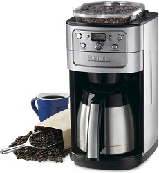 Cuisinart Grind & Brew Thermal 12-Cup Automatic Coffeemaker DGB-900BC CUIDGB900BC