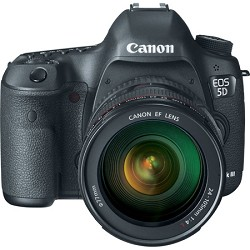Canon EOS 5D Mark III 22.3 MP Full Frame Digital SLR Camera 24-105mm f/4L IS Lens Kit - PRICE AFTER $200.00 REBATE