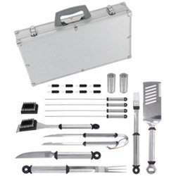 Click here for Mr Bar B Q 21-Piece Silver PrestigeTM Stainless St... prices