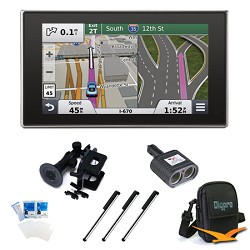 Garmin nuvi 3597LMTHD 5 Bluetooth GPS with Lifetime Maps and Traffic Essentials Bundle