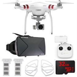 DJI Phantom 3 Standard Quadcopter Drone + 2.7K Camera FPV Virtual Reality Experience E9DJIPHANTOM3STAND