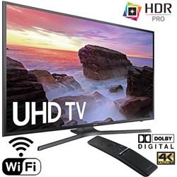 """Samsung UN65MU6300FXZA 65"""" 4K HDR Ultra HD Smart LED TV (..."""