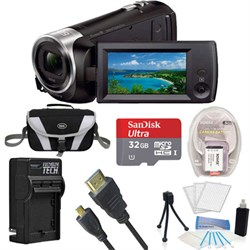 Sony HDR-CX405/B Entry Level Full HD 60p Black Camcorder ...