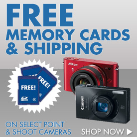 Free Memory Card and Shipping!