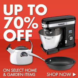Save Big on Home & Garden