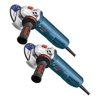 """4-1/2"""" Angle Grinders with No-Lock-on Paddle Switch - 2 Pack"""