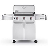Genesis S-310 Liquid Propane Gas Grill - Stainless Steel