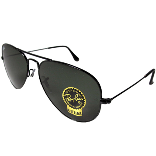 black ray ban aviators  Ray-Ban Aviator Large Metal Sunglasses - Your choice in color and ...