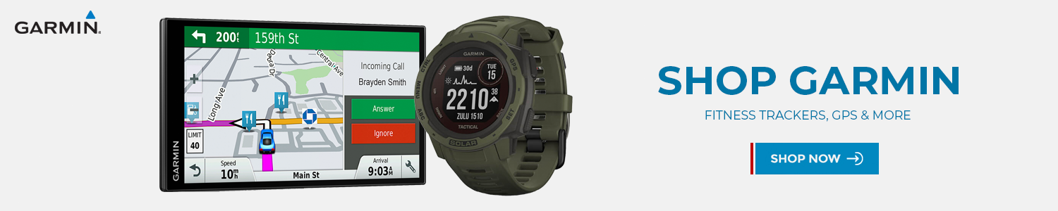 Garmin fitness trackers, gps and more