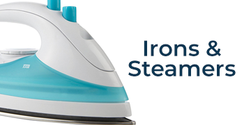 IRONS AND STEAMERS