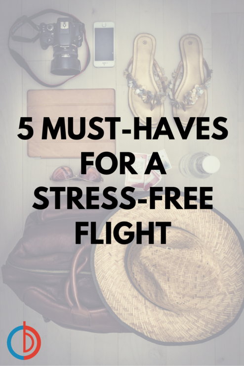 5 Must-Haves to Make your Vacation Flight a Breeze