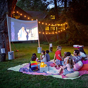 Bring The Movie Theater To Your Backyard This Summer