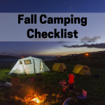 Fall Camping Checklist