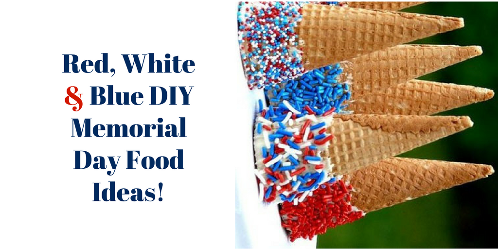 Red White Amp Blue Diy Memorial Day Food Ideas Buydig Com
