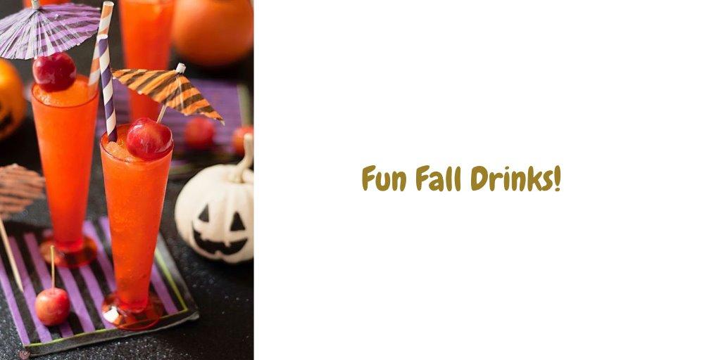 Fun fall drinks blog for Fun fall drinks