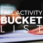 Fall Activity Bucket List