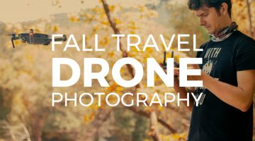 Fall Travel Drone Photography