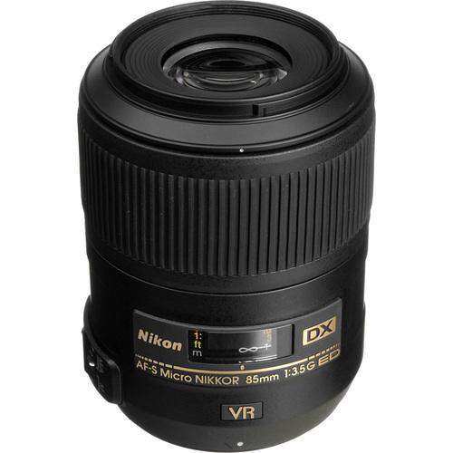 Nikon AF-S DX Micro NIKKOR 85mm f/3.5G ED VR Lens for Nikon Digital SLR Cameras