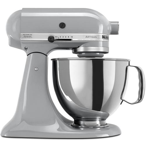 KitchenAid KSM150PSMC - Artisan Series 5-Quart Mixer, Metallic Chrome