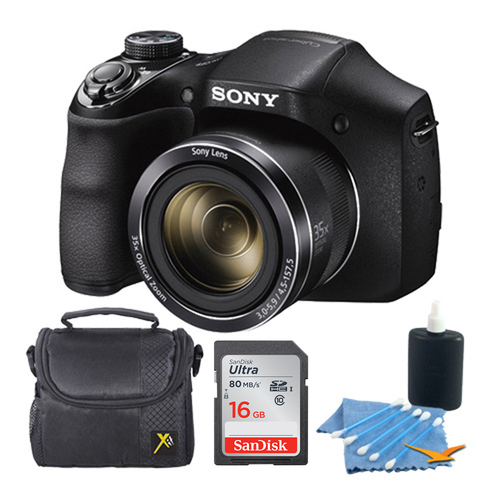 Sony Cyber-shot DSC-H300 Digital Camera Black 16GB