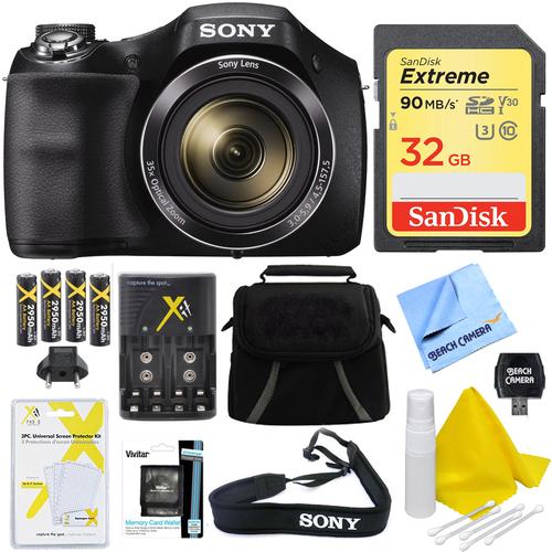 Sony Cyber-shot DSC-H300 Digital Camera Black 32GB