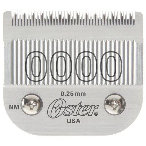 Oster Professional 76918-016 Replacement Clipper Blade, Size 0000