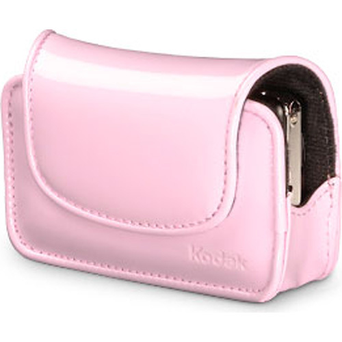 Kodak Chic Patent Leatherette Camera Case - Pink