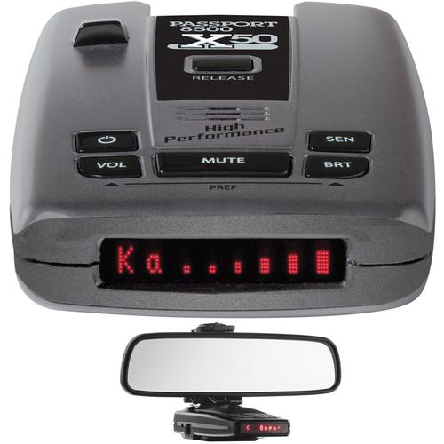 Escort Passport X50 Radar/Laser Detector with w/