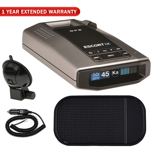 Escort iX Long Range Radar Detector +