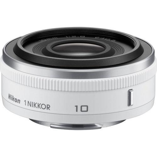Nikon 1 NIKKOR 10mm f/2.8 Lens White