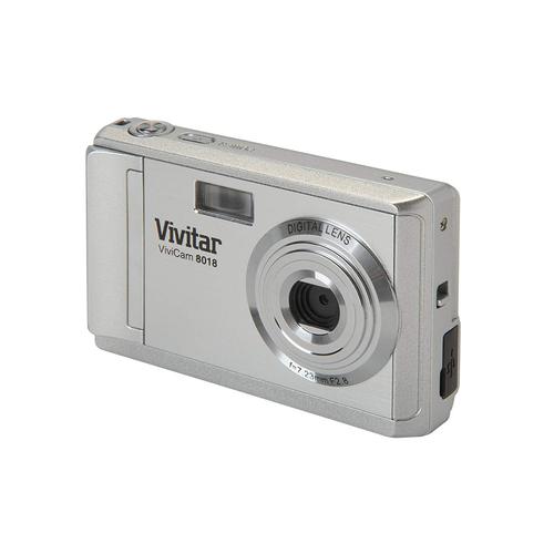 Vivitar V8018 8.1MP Digital Camera 8x Zoom