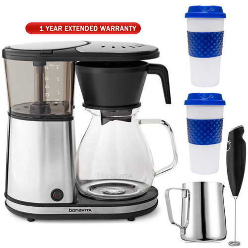 Bonavita Glass 8-Cup Coffee Brewer w/ Hot