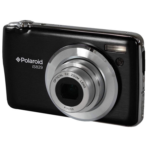 Polaroid IS829-BLK/KT2-AMX Digital Camera with 2.7 Inch