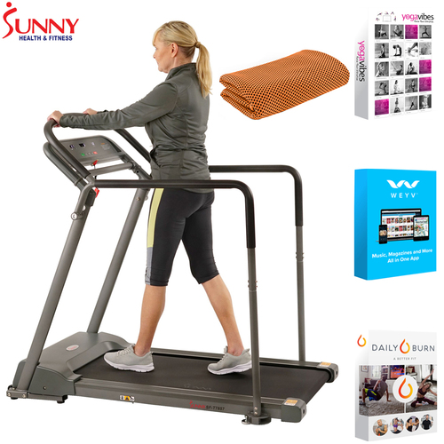 Sunny Health and Fitness Recovery Walking Treadmill