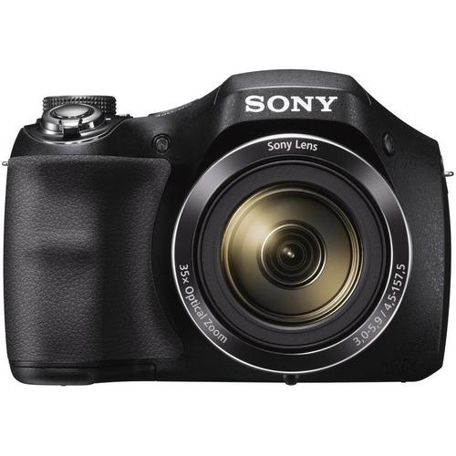 Sony Cyber-shot DSC-H300 Digital Camera - Black