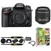 Nikon D7200 DX 24.2MP Camera w/18-55mm VR II Lens Refurb Deals