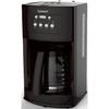 BuyDig.com - Cuisinart DCC-500 12-Cup Programmable Black Coffeemaker - Factory Refurbished