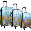 Deals on Samsonite CityScapes NYC 3 Piece Premium Spinner Luggage Set