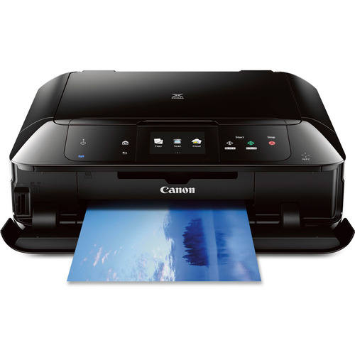 Canon MG7520 Wireless Color All-in-One Inkjet Printer - Black