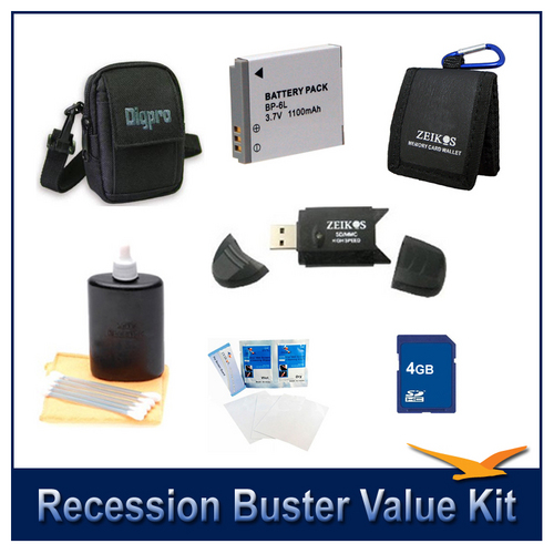 Special Recession Buster Value Kit for Canon Powershot SX500,SX510,SX700,D30,S95  SX280