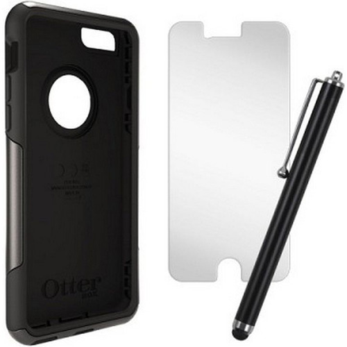 Otterbox iPhone 6 Plus Commuter Series Case, Stylus & Screen Protector