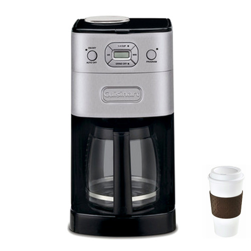 Cuisinart Grind & Brew 12-Cup Automatic Coffee Maker + Copco To Go Cup Bundle