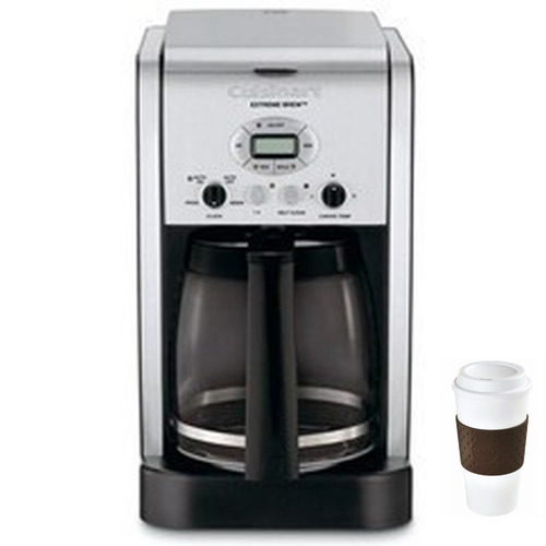 Cuisinart DCC-2650 - Brew Central 12-Cup Programmable Coffeemaker + Copco To Go Cup Bundle
