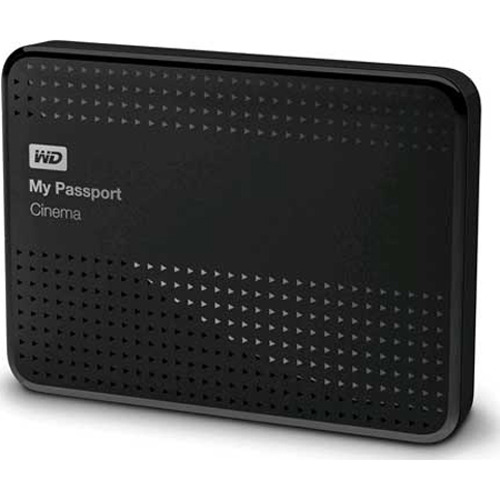 Western Digital My Passport Cinema, 1 TB - Classic Black WDBZKS0010BBK-NESN