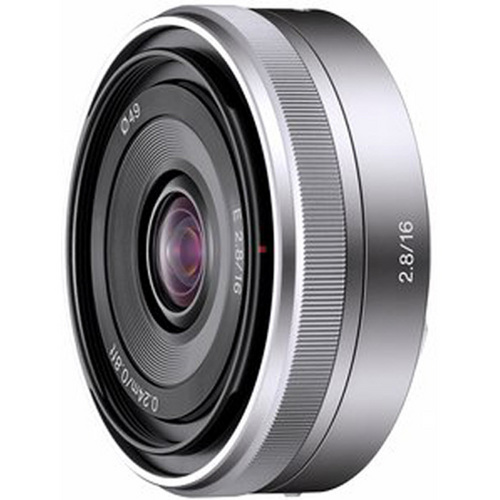 Sony SEL16F28 - 16mm f/2.8 Wide-Angle E-Mount Lens for NEX Series Cameras